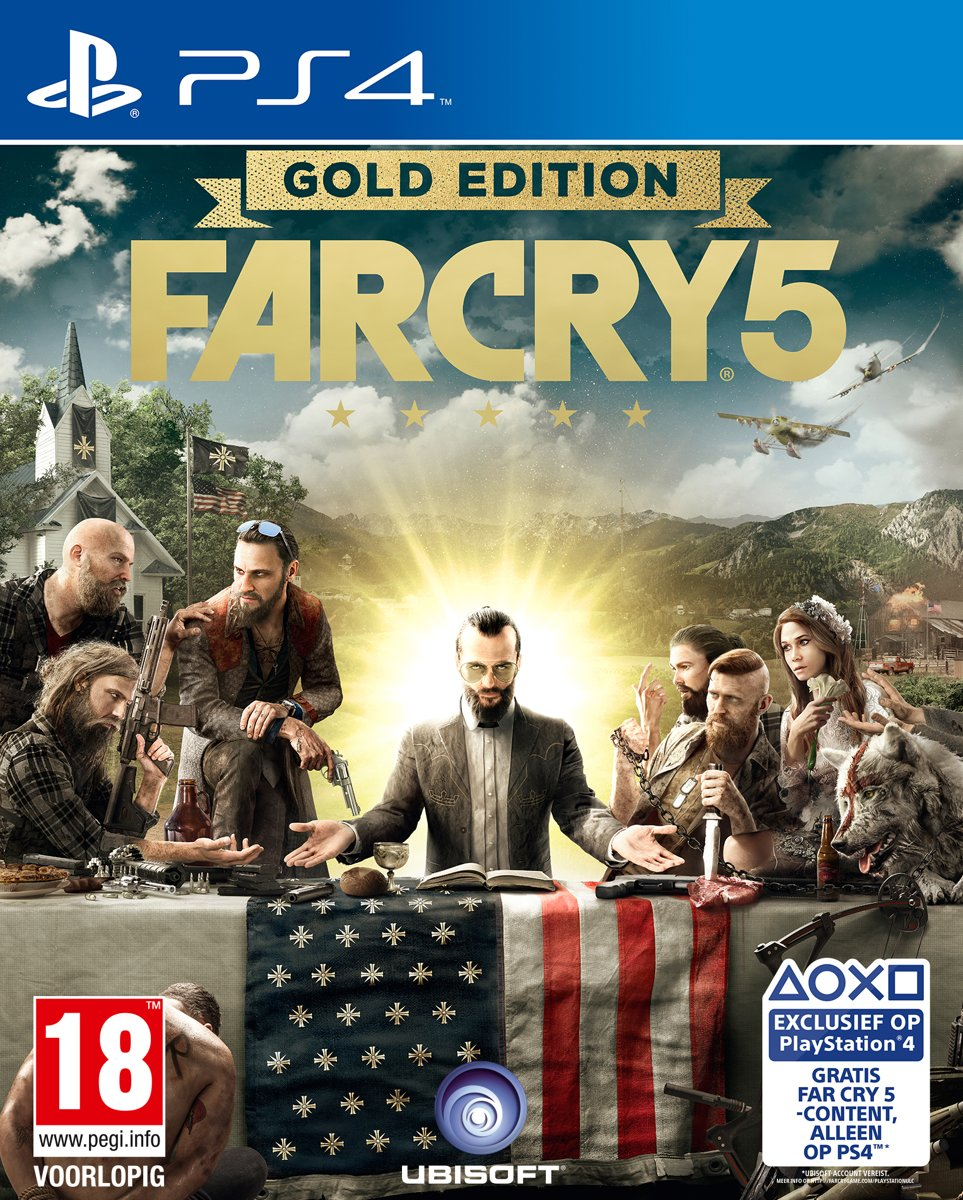 Far Cry 5 - Gold Edition PlayStation 4