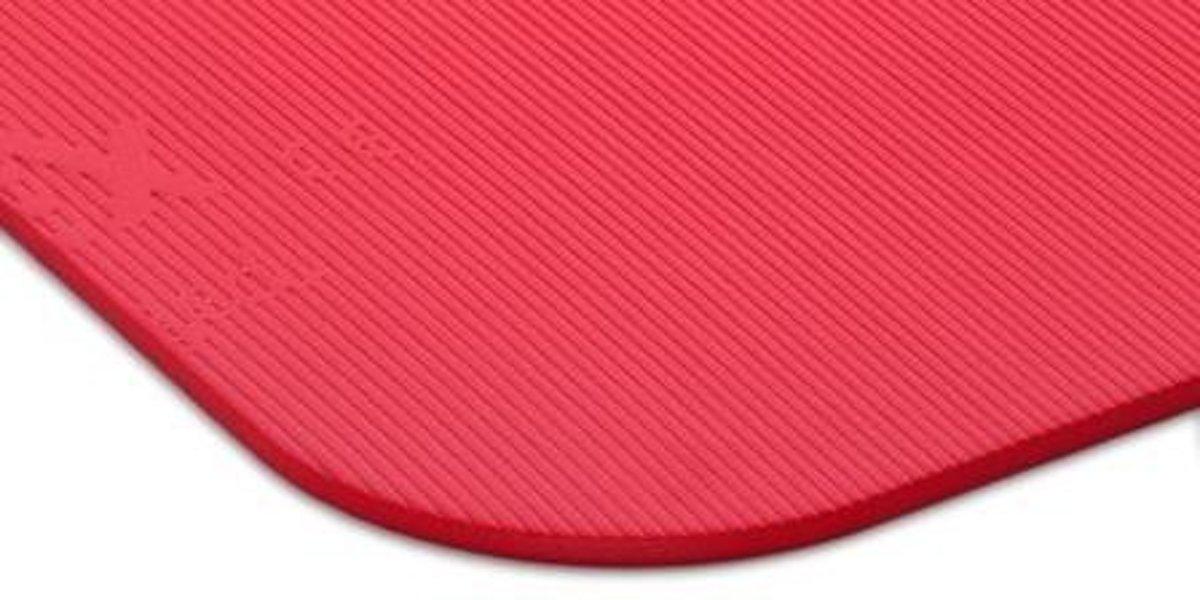 Foto van Therapiemat Airex™ Coronella, 15 mm dik, 185 x 60 cm, rood