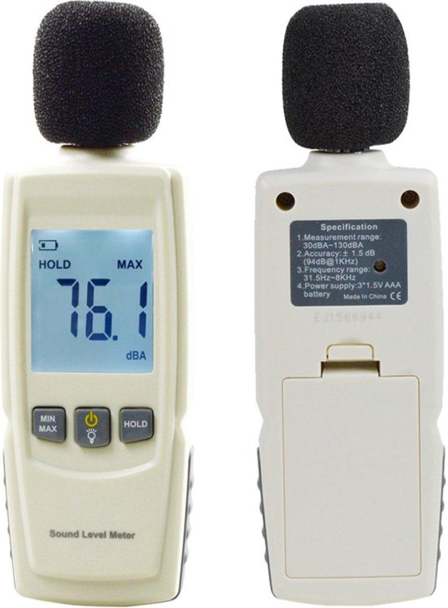 Digitale geluidsmeter - decibelmeter - Geluidsniveaumeter DB kopen