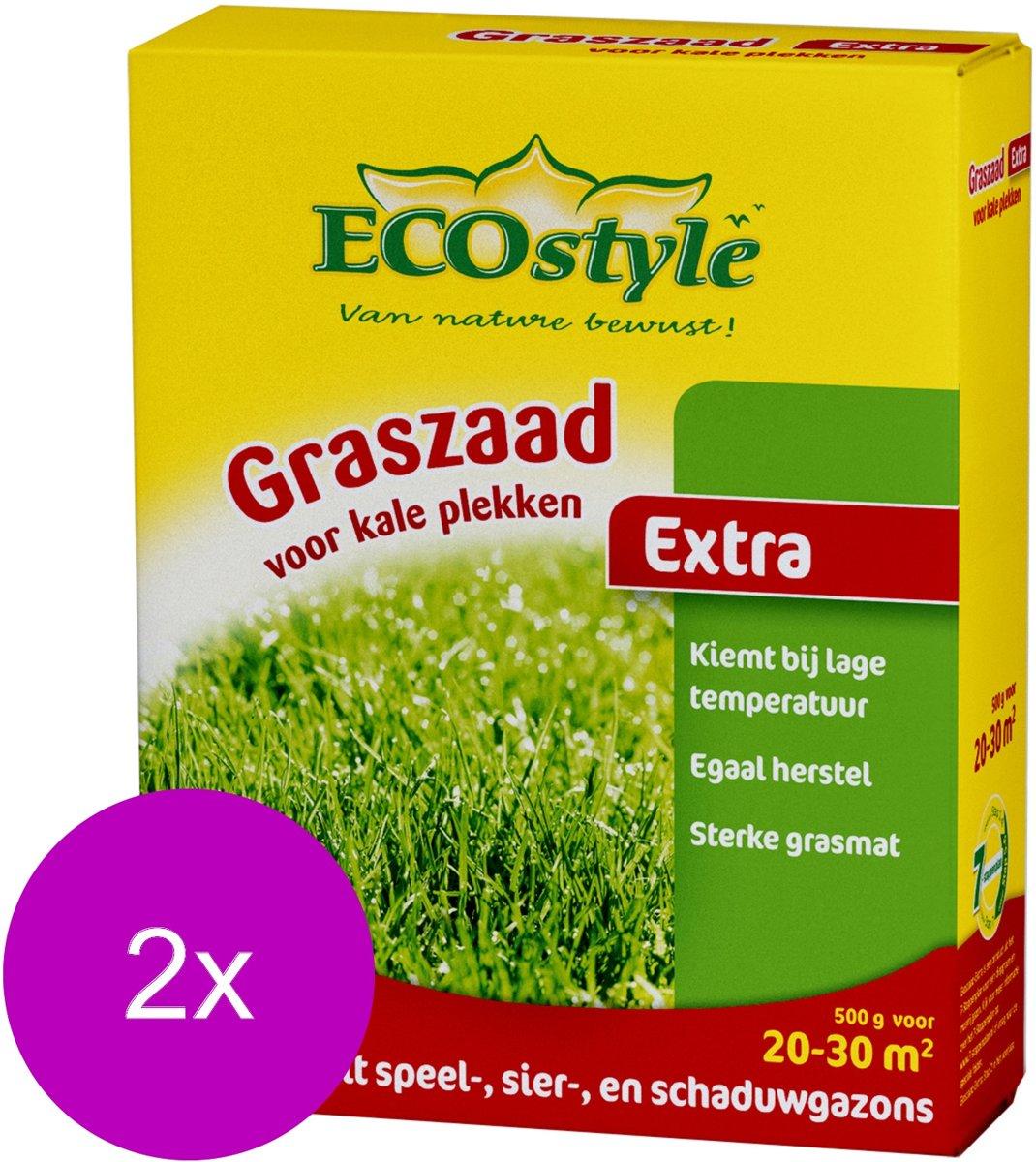 Ecostyle Graszaad-Extra 30 m2 - Graszaden - 2 x 500 g kopen