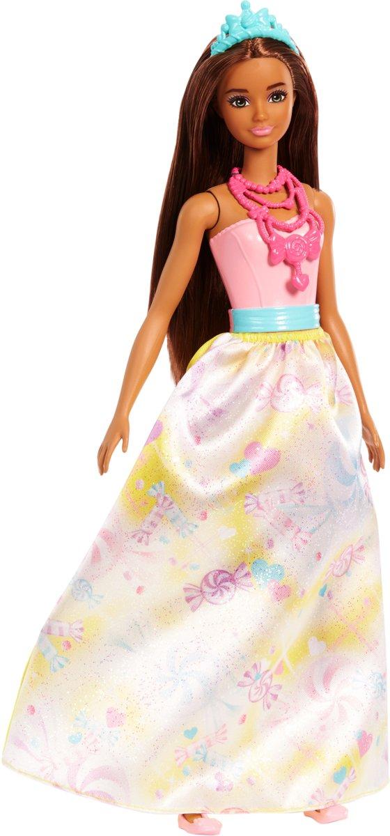 Barbie Dreamtopia Regenboog Prinses Brunette - Barbiepop