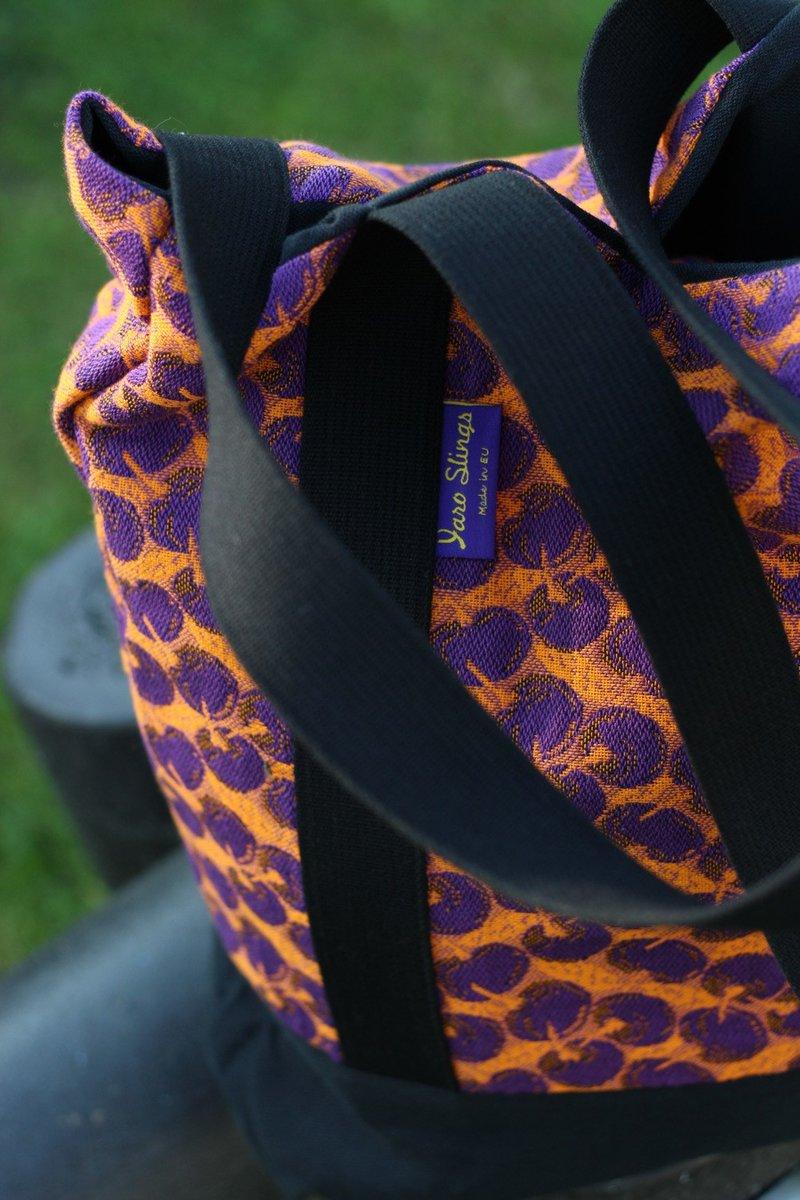 Yaro Tote Bag - Cherries Ultra Orange Violet kopen