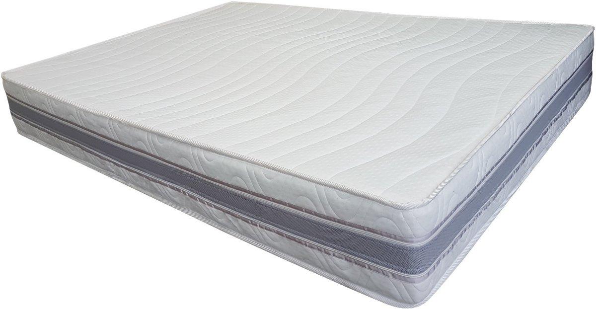 7 Comfort Zilver matras 180x200 - 24 cm dik