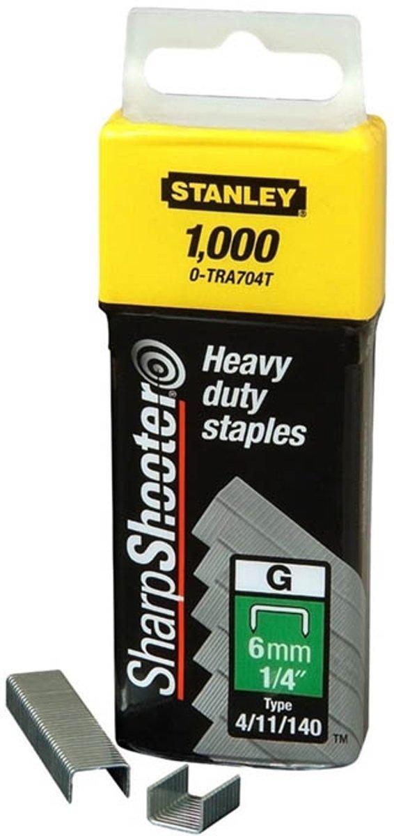 Stanley - Nieten - 6mm - Type G - 1000 Stuks kopen