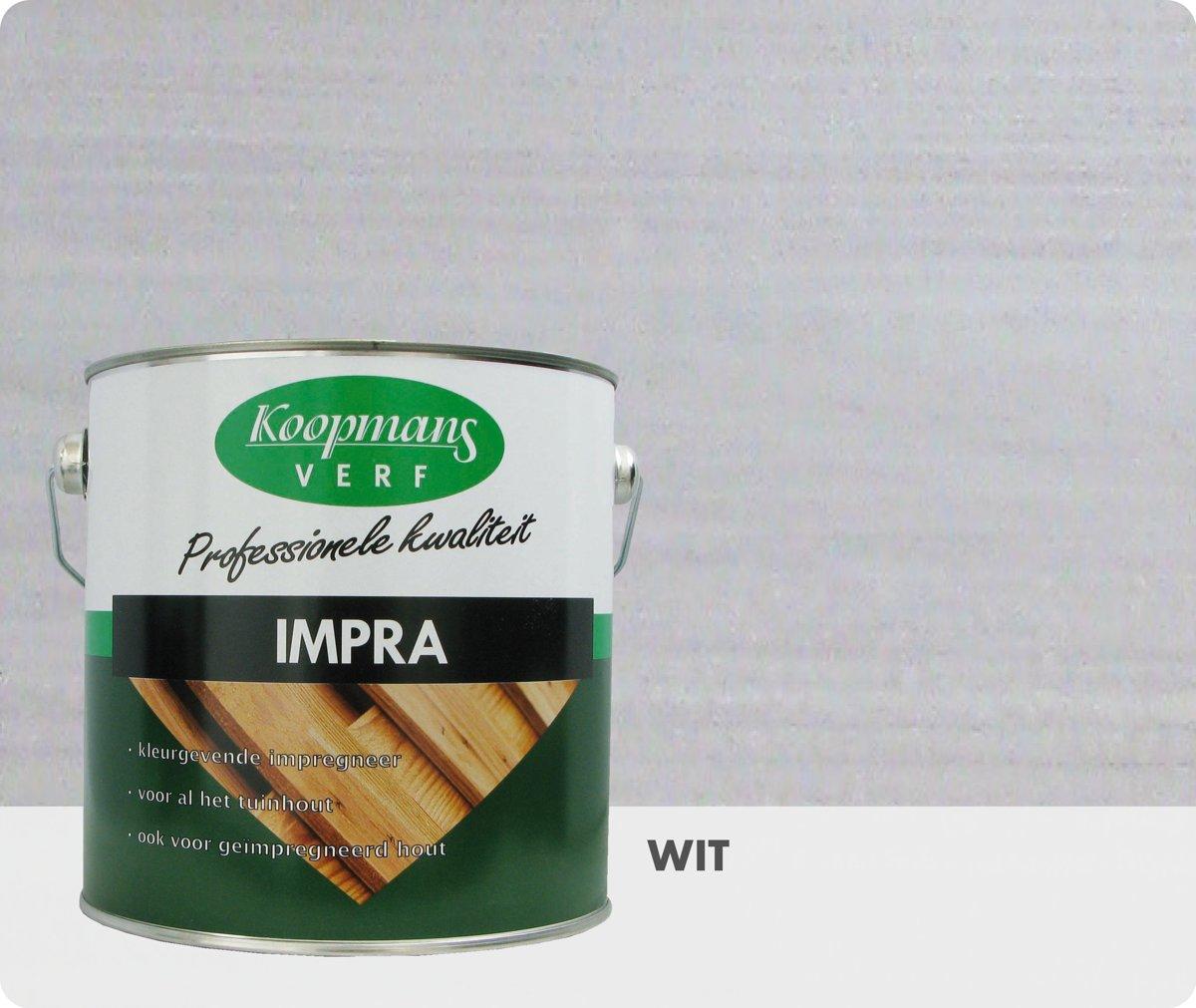 Koopmans Impra - Transparant - 2,5 liter - Wit