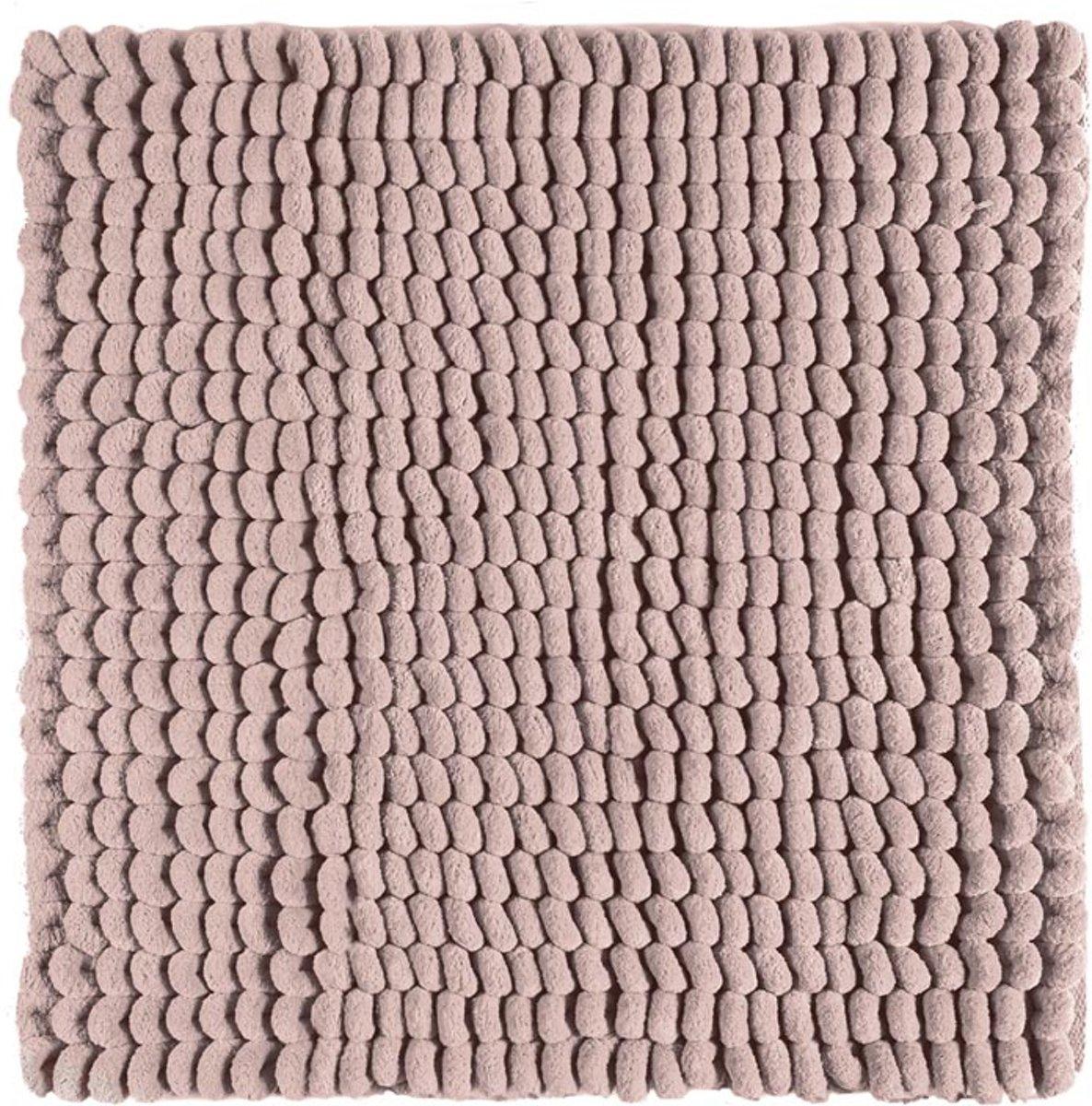 Aquanova Luka - Bidetmat - 60x60 cm - Dusty pink kopen