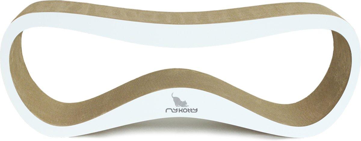MyKotty LUI - Krabpaal - Wit - 75cm x 25cm