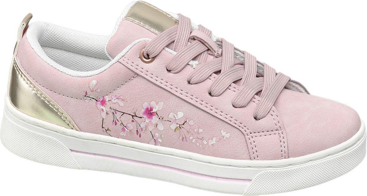 Graceland Kinderen Roze sneaker vetersluiting - Maat 38 kopen