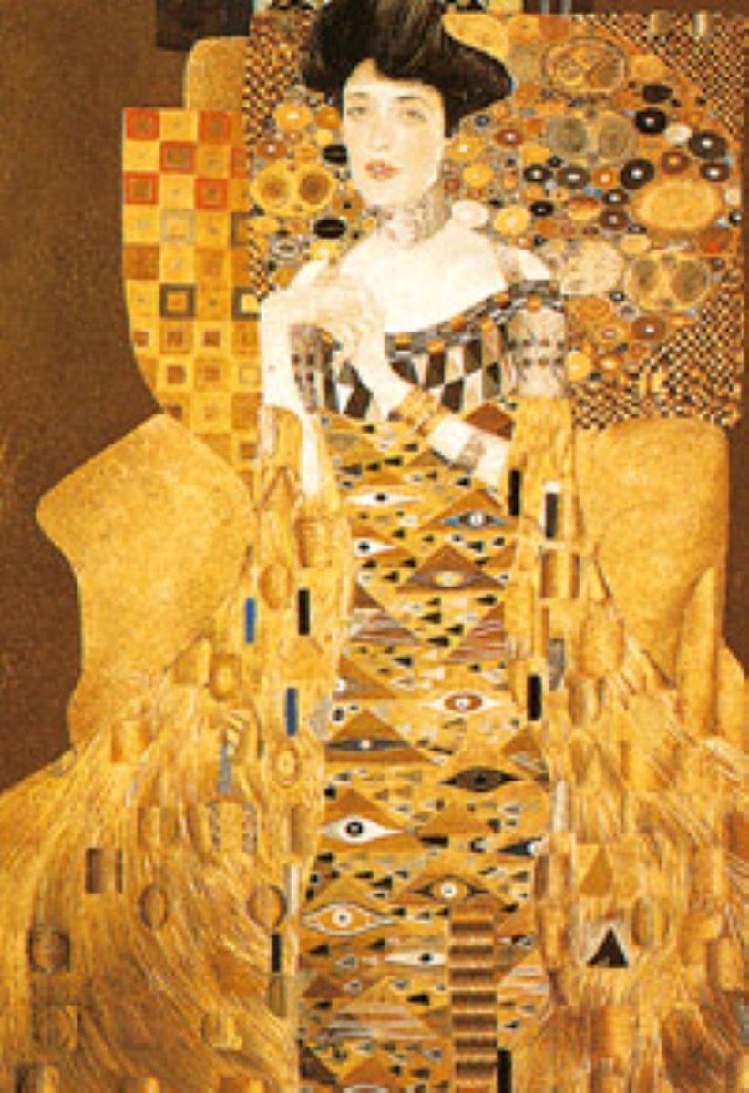 Legpuzzel - 1000 stukjes - Klimt, Adele Bloch-Bauer - Piatnik puzzel kopen
