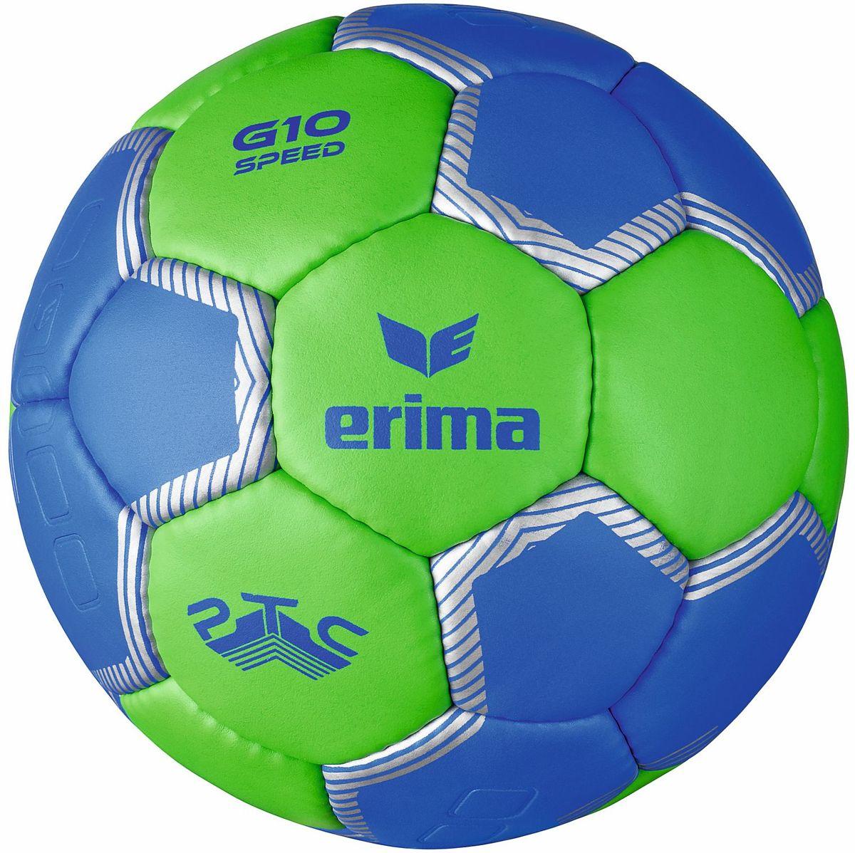 ERIMA G10 Speed - Handbal - Maat 3 - Green/Blauw kopen