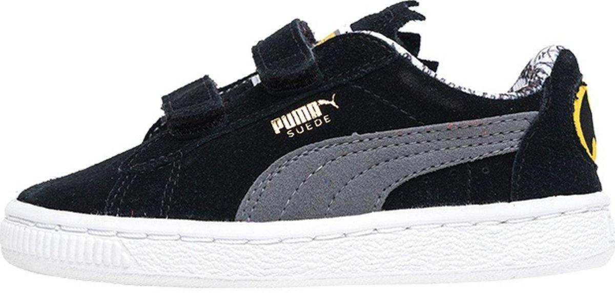109ede18263 bol.com   Puma Basket V Batman Sneakers Junior Zwart Maat 20