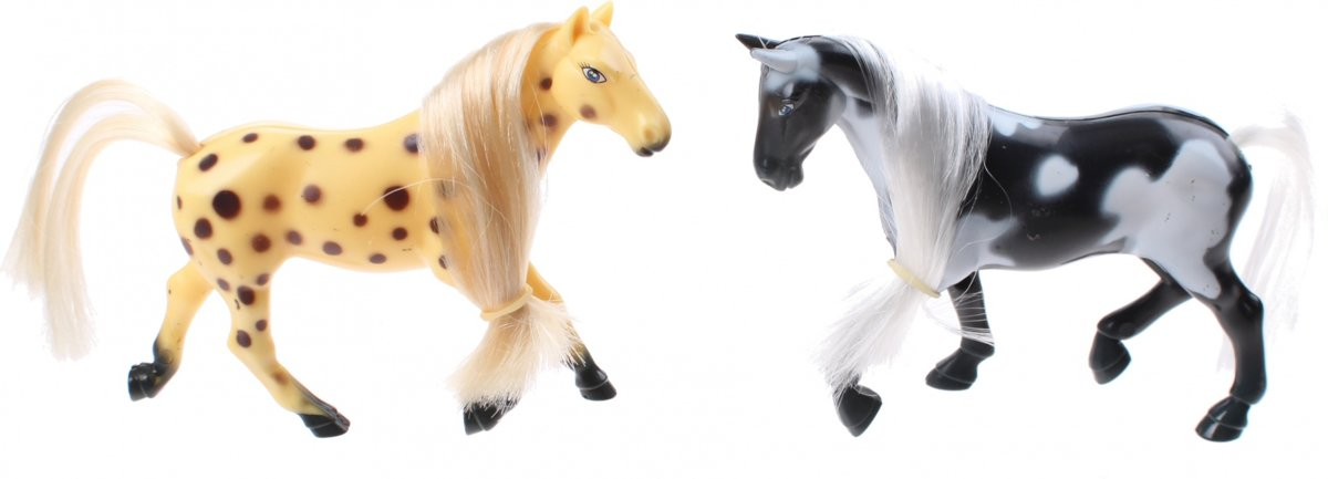 Jonotoys Speelset Little Horse Geel/zwart 4-delig kopen