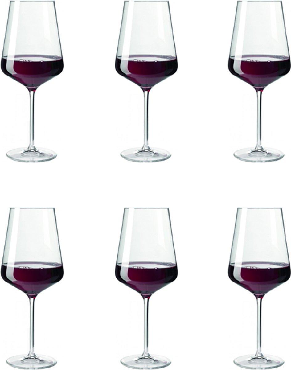 Leonardo Puccini Rode wijnglas - 0,75 l - 6 stuks kopen