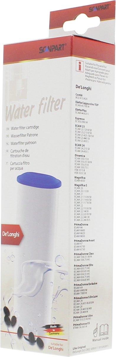 waterfilterpatroon DeLonghi DLSC002 1-pack kopen