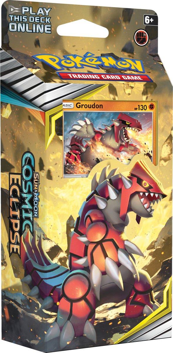 Pokémon Sun & Moon Cosmic Eclipse Thema Deck Groudon - Pokémon Kaarten kopen