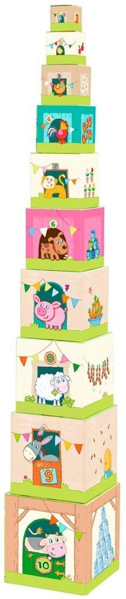 Haba Blokken Babyspeelgoed Stapelblokken boerderij kopen