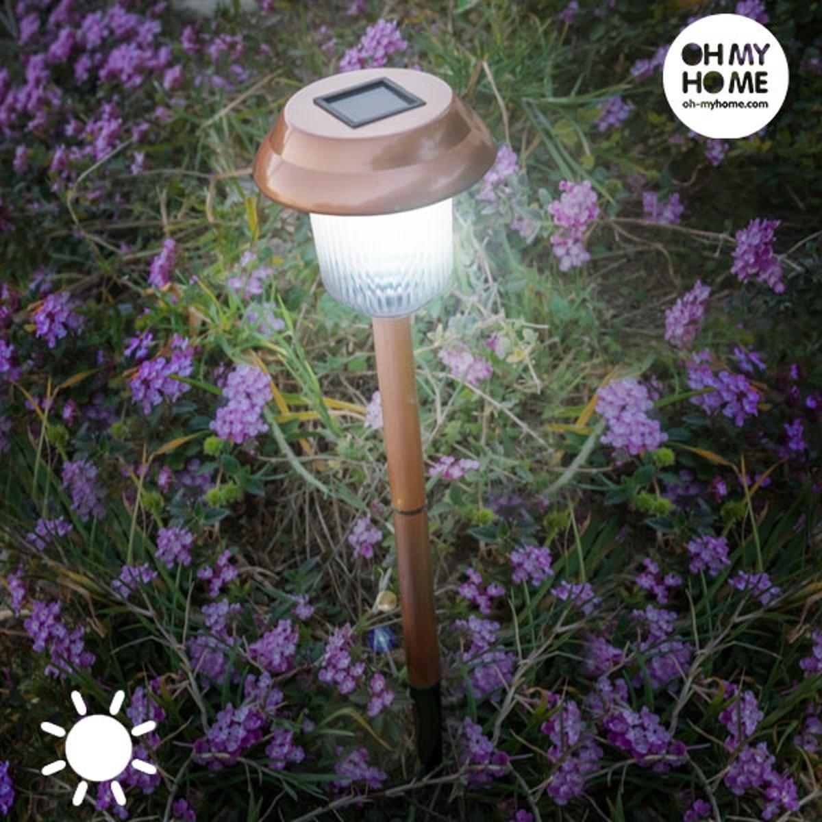 Garden Oh My Home Copper Lamp op Zonne-Energie kopen
