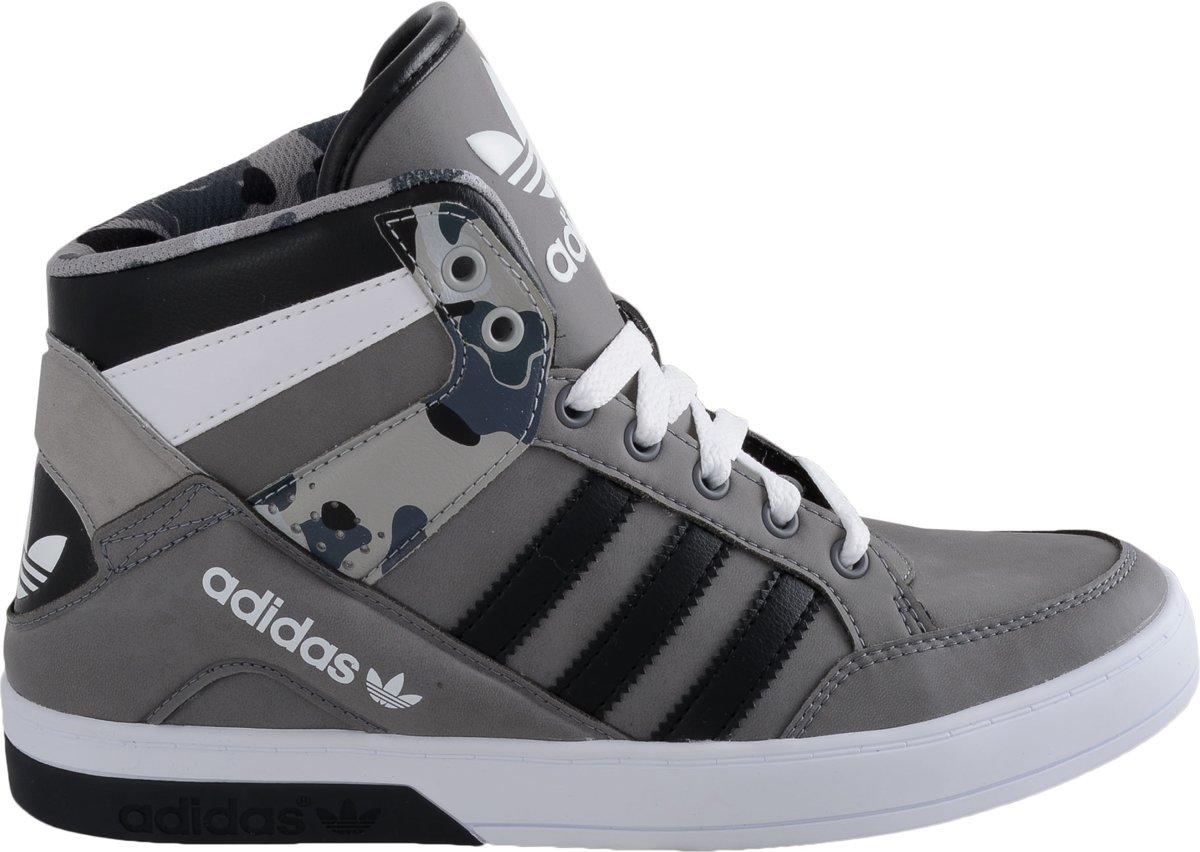 06edbade3a bol.com | adidas Hard Court Block W Sportschoenen - Maat 40 - Vrouwen -  grijs/zwart/wit