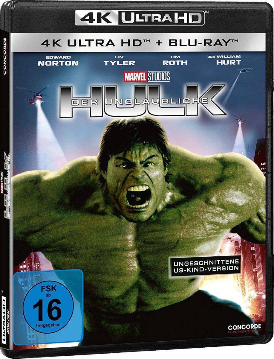 The Incredible Hulk (2008) (Ultra HD Blu-ray & Blu-ray)-