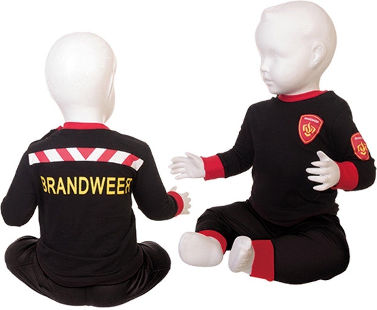Fun2Wear BrandweerPyjama Zwart maat 128 kopen