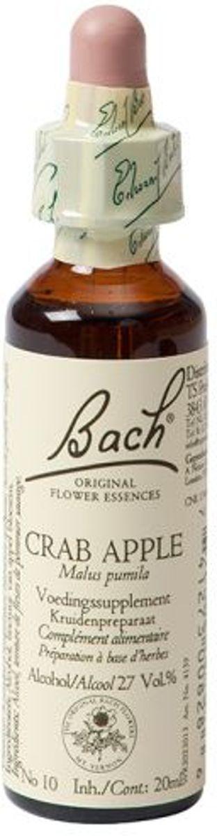 Foto van Bach Flower Crab Appel - 20 ml - Voedingssupplement
