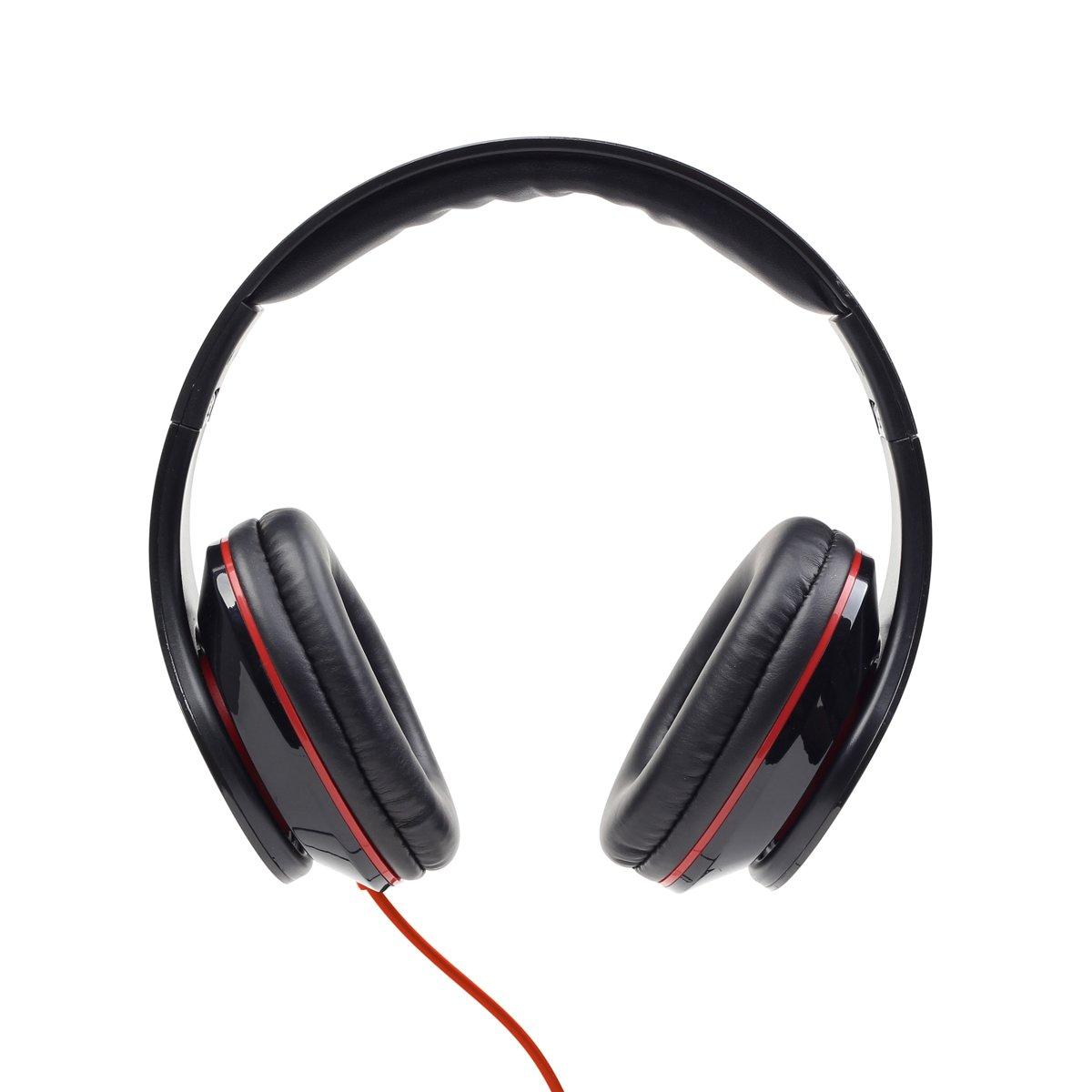 Gembird MHS-DTW-BK - Koptelefoon met microfoon Detroit kopen
