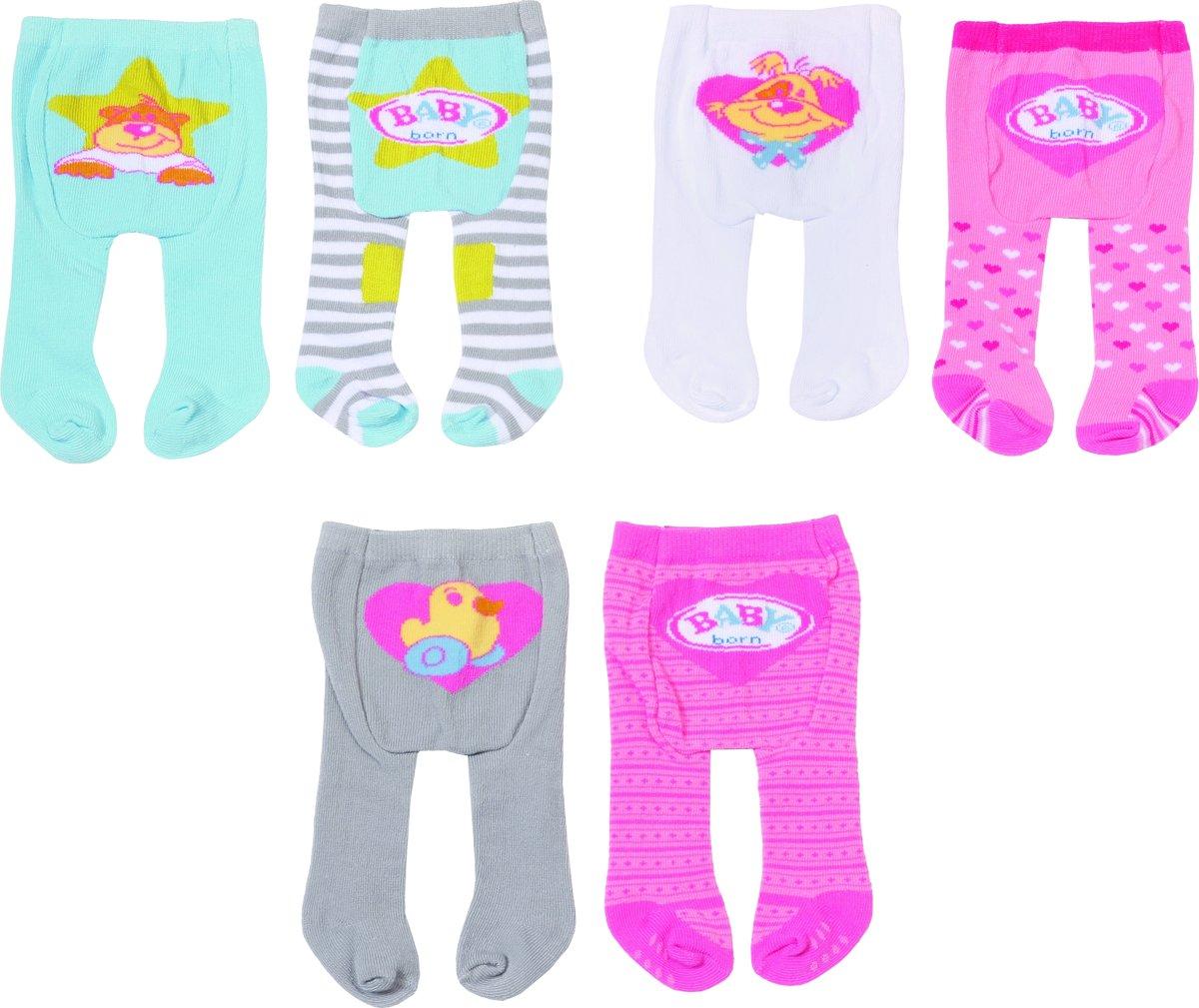 BABY born® Tights 2 pack Blauw/ grijs