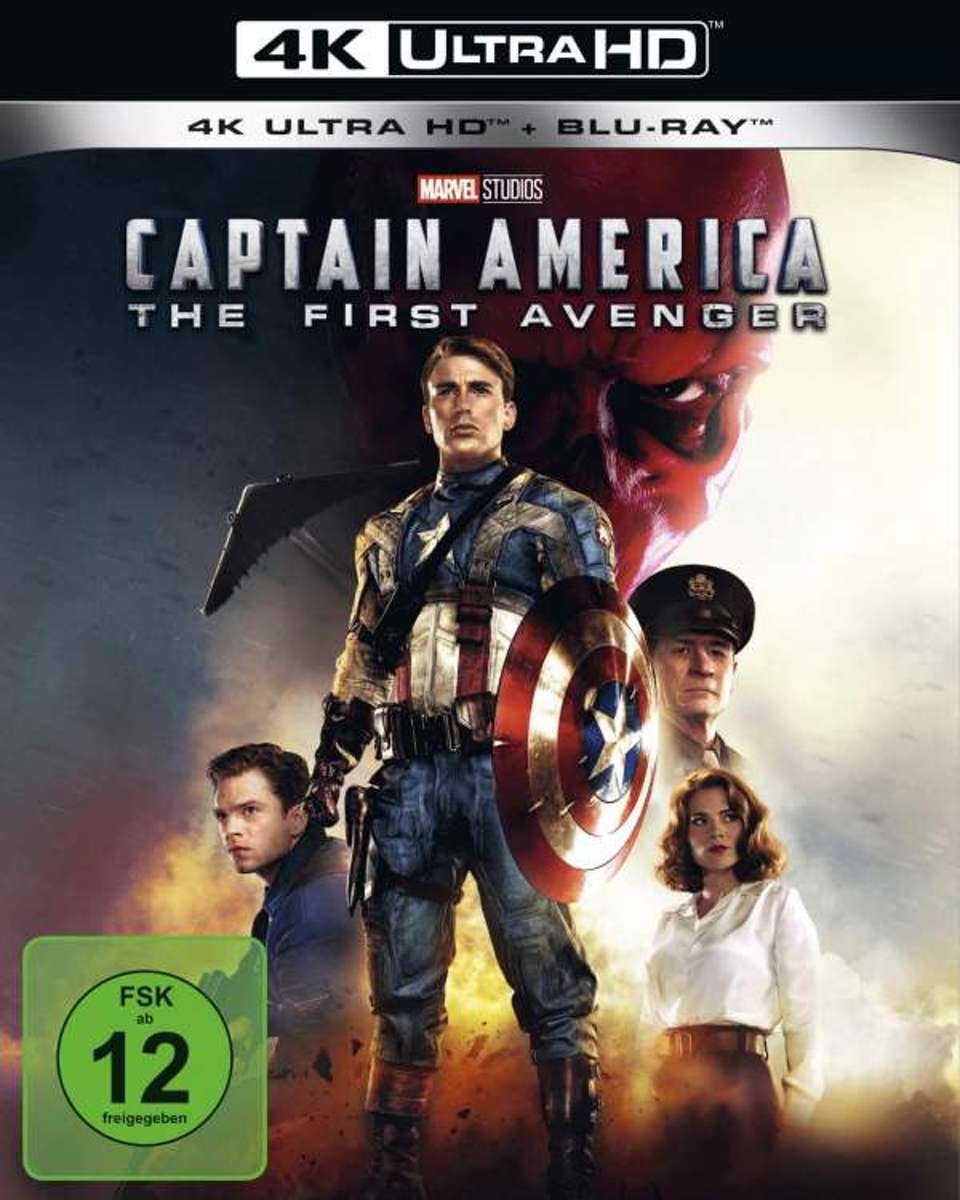 Captain America (Ultra HD Blu-ray & Blu-ray)-