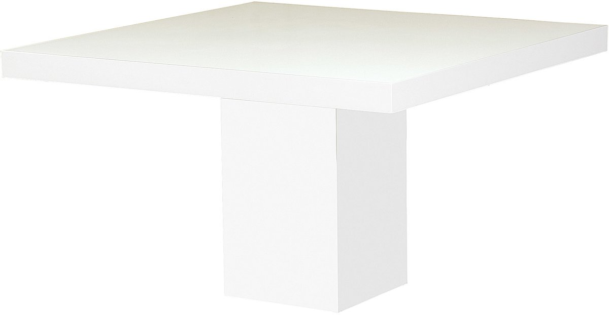 Vierkante Eettafel Met Kolompoot.Bol Com Goossens Eettafel Inside 130x130x78 Cm