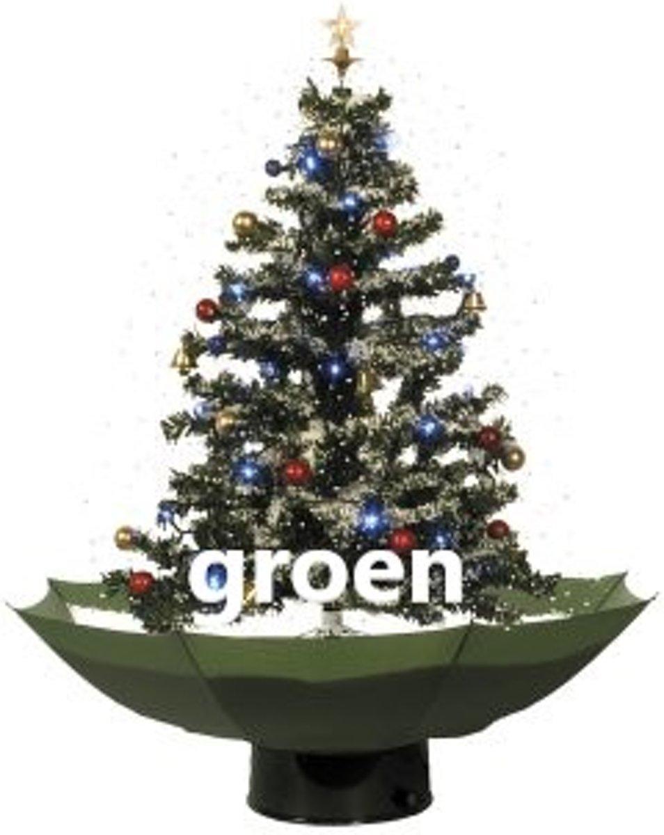 Sneeuwende kerstboom - 175 cm - groen kopen