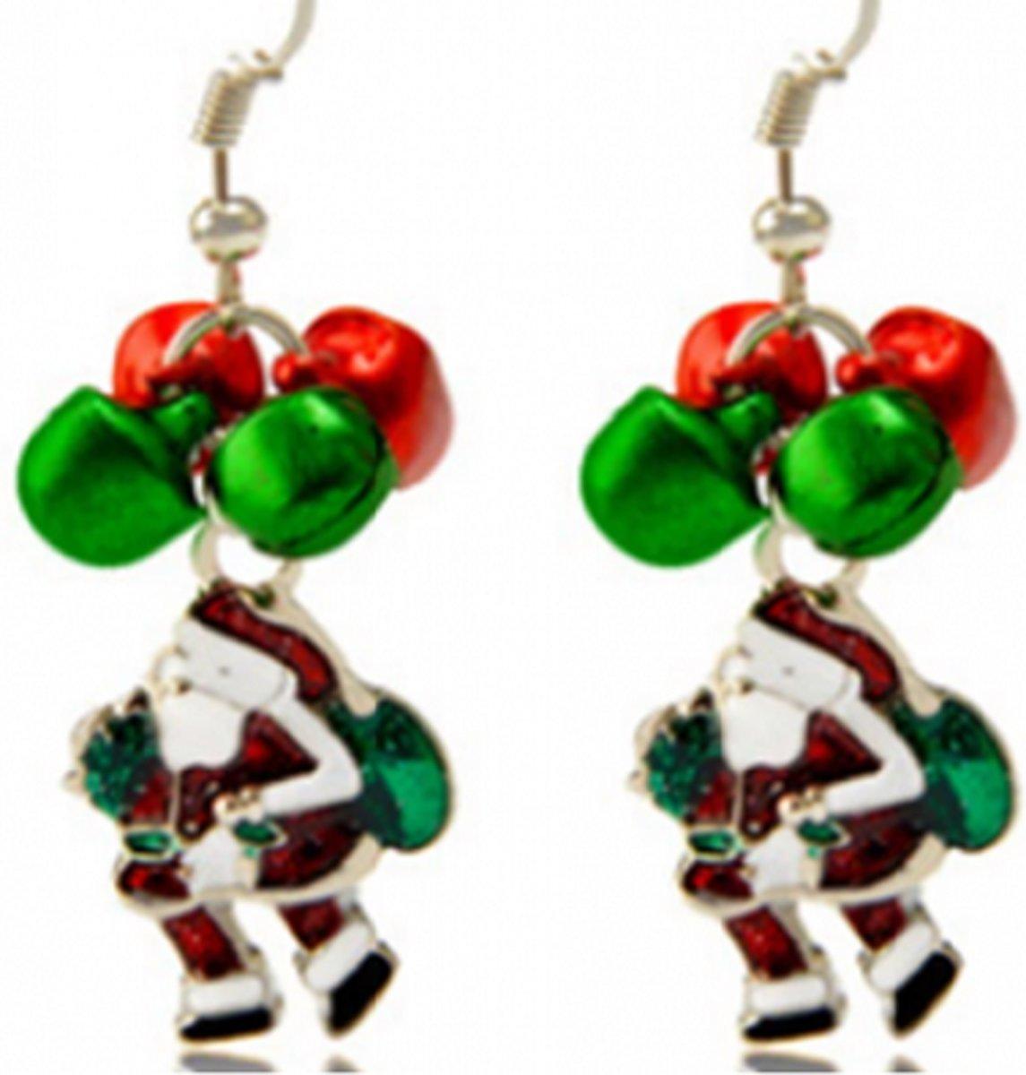Kerst oorbellen- Belletjes man