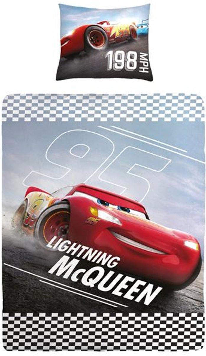 Disney Cars - Dekbedovertrek - Junior - 120x150 cm + 1 kussensloop 60x70 cm - Multi kleur kopen