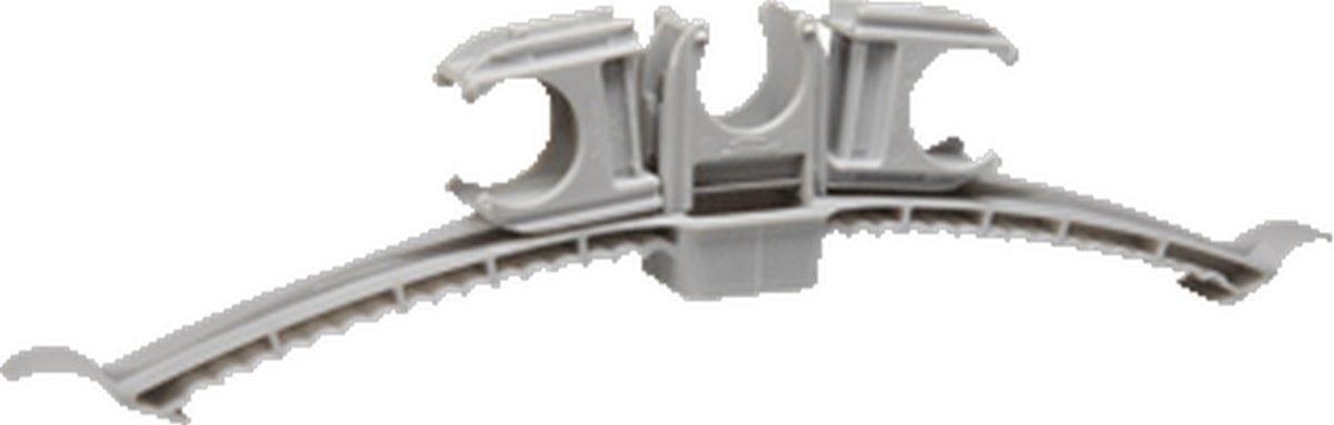 SCHB beugelklem KB, grijs, spanbereik 200mm, schaal kunstst kopen