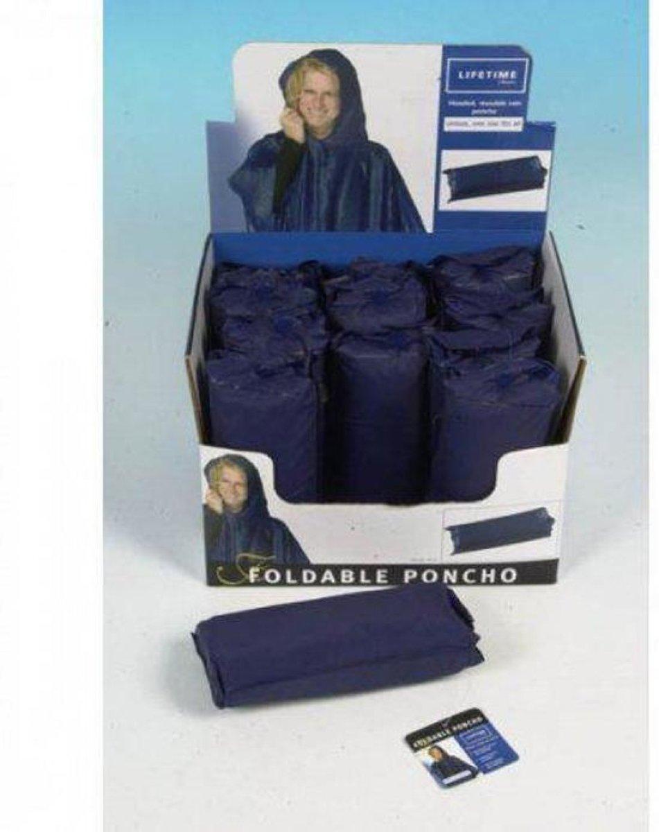 Lifetime Poncho - Blauw - One size kopen