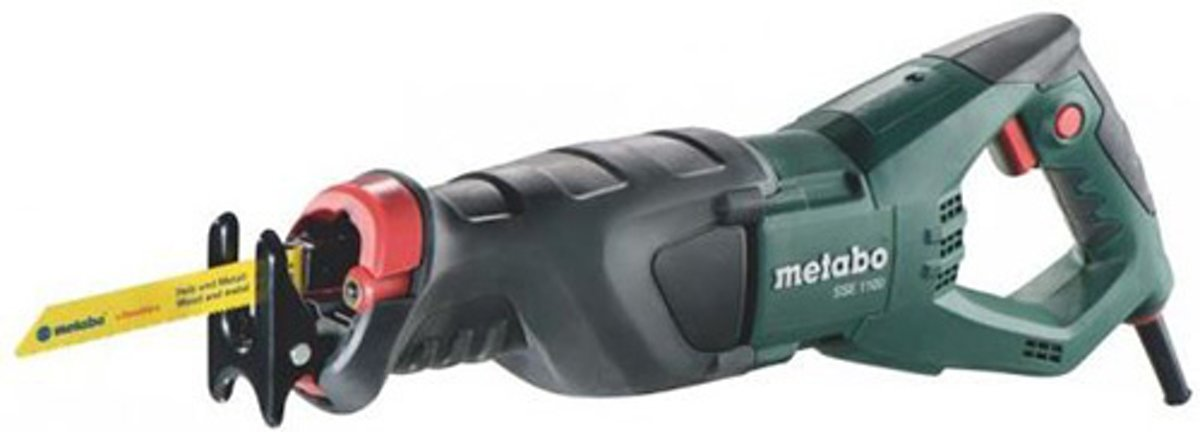 Metabo Reciprozaag SSE1100 in koffer
