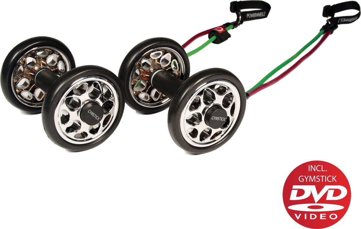 Gymstick Power Wheelz buikspierwielen met DVD kopen