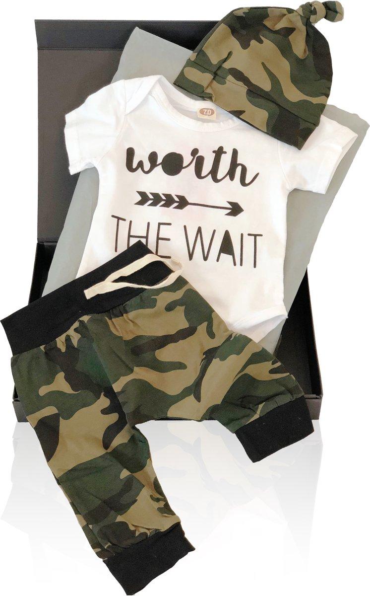 So Cool Baby - Kraamcadeau Army Basic - Geschenkset kopen