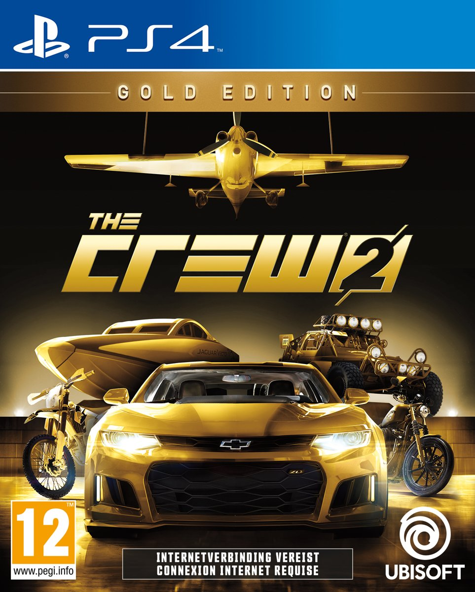 The Crew 2 - Gold Edition PlayStation 4