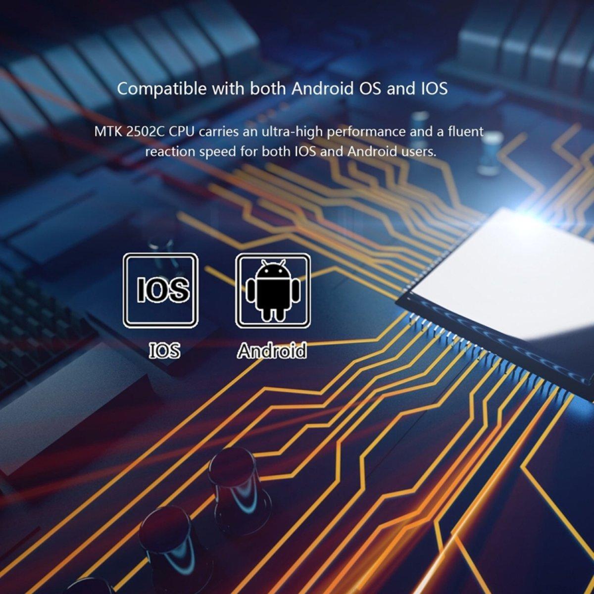 KW28 1.3 inch scherm Display Bluetooth Smart Watch  steun stappenteller / Heart Rate Monitor / slapen Monitor / sedentaire herinnering  compatibel met Android en iOS telefoons (bruin) kopen