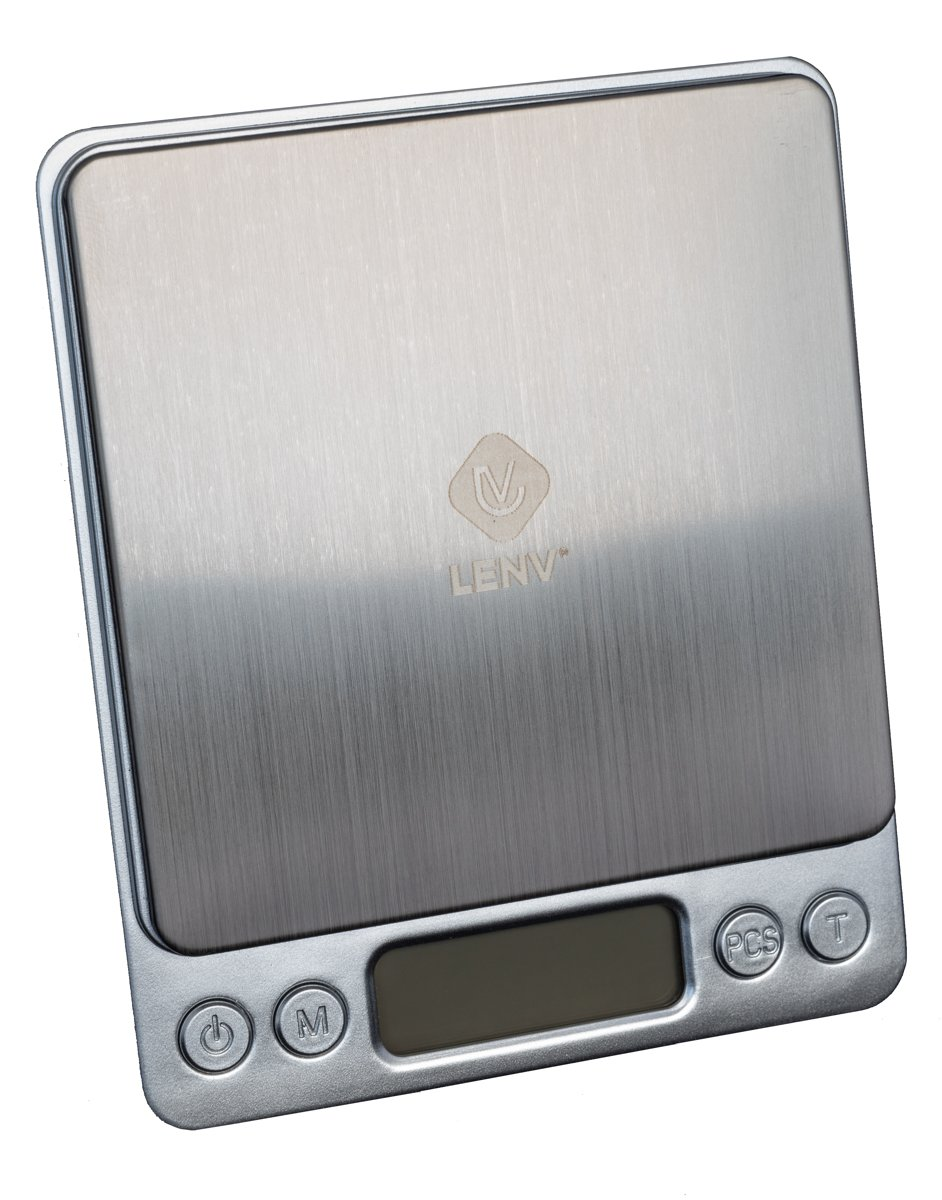 LenV - Digital scale - Super nauwkeurig (0,01 tot 500 gram) precisie weegschaaltje / keuken - sieraden weegschaal / zakweegschaal
