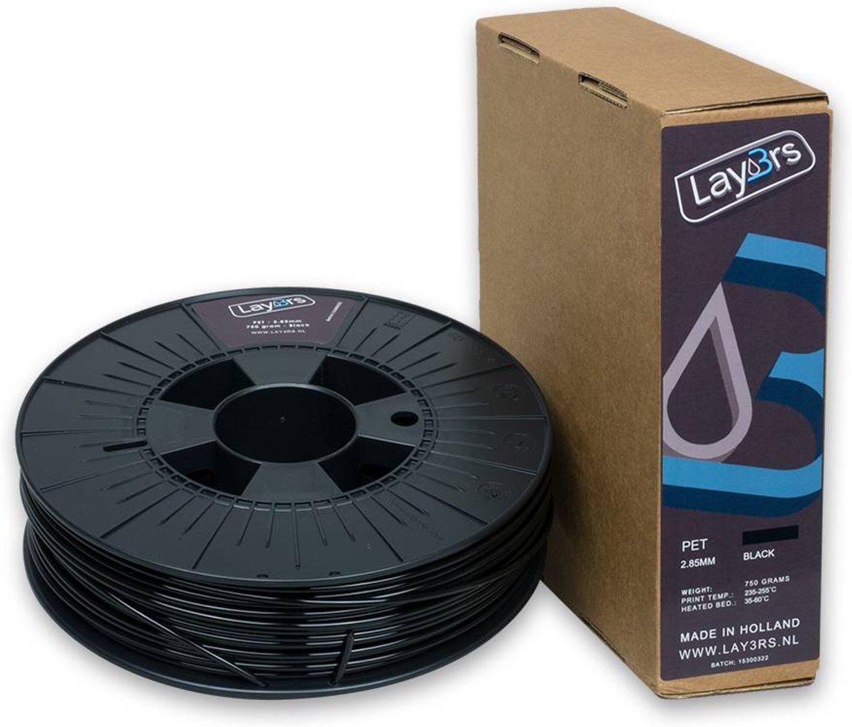 Lay3rs PET-G Black - 2.85 mm