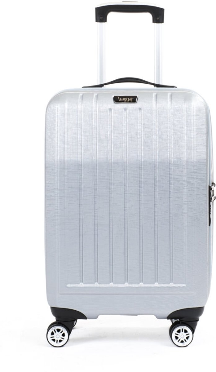 BAGGAJ V303 ABS Koffer Zilver Grijs  21.6 inch kopen