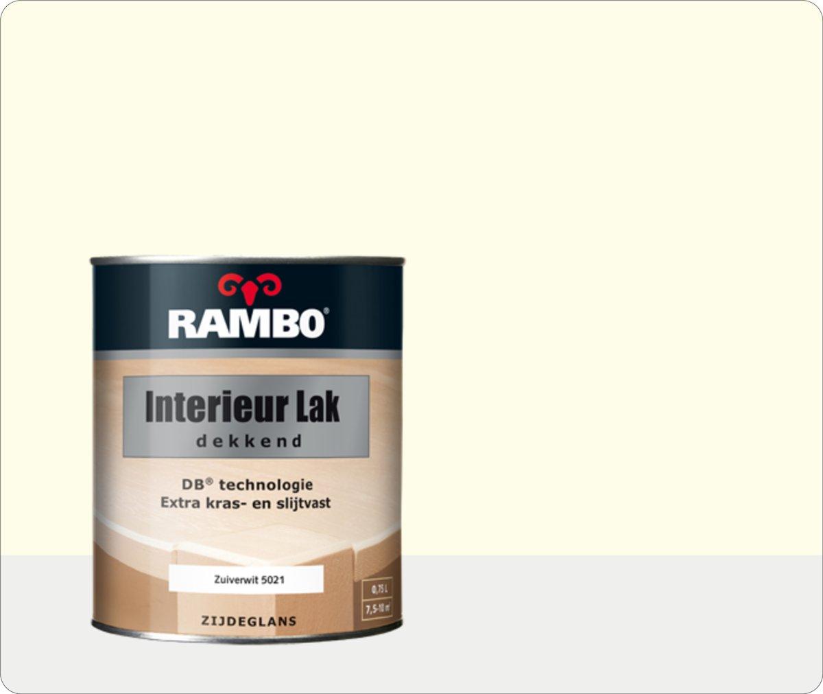 Favoriete bol.com   Rambo Interieur Lak Dekkend 0,75 liter - Zuiverwit (RAL VT03