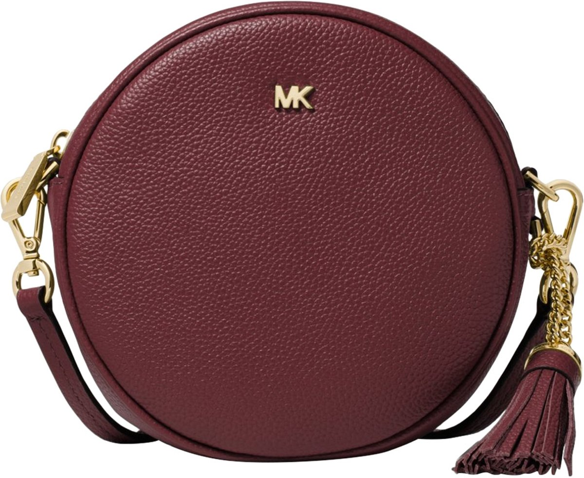 Michael Kors Dames Crossbodytas Medium Canteen Bag Bordeaux