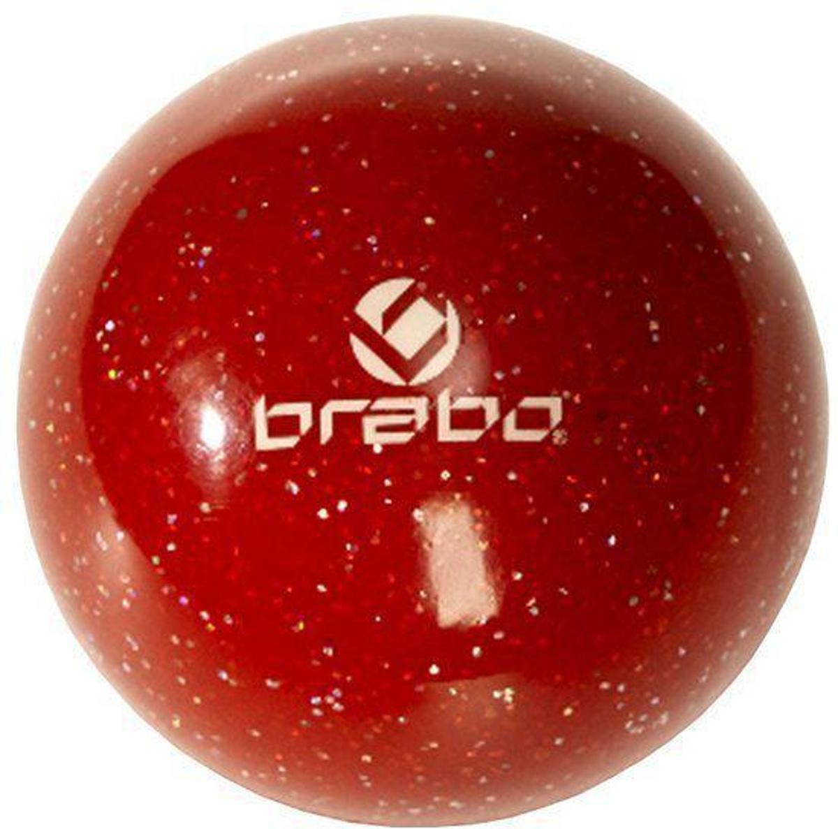 Brabo Smooth Ball - Veldhockeybal - Rood kopen