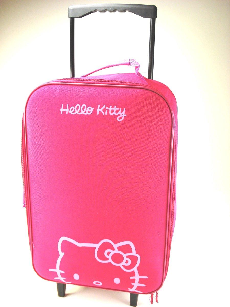 6fdf66f8f85 bol.com   Hello Kitty trolley - Roze-Paars - 48x33x13cm