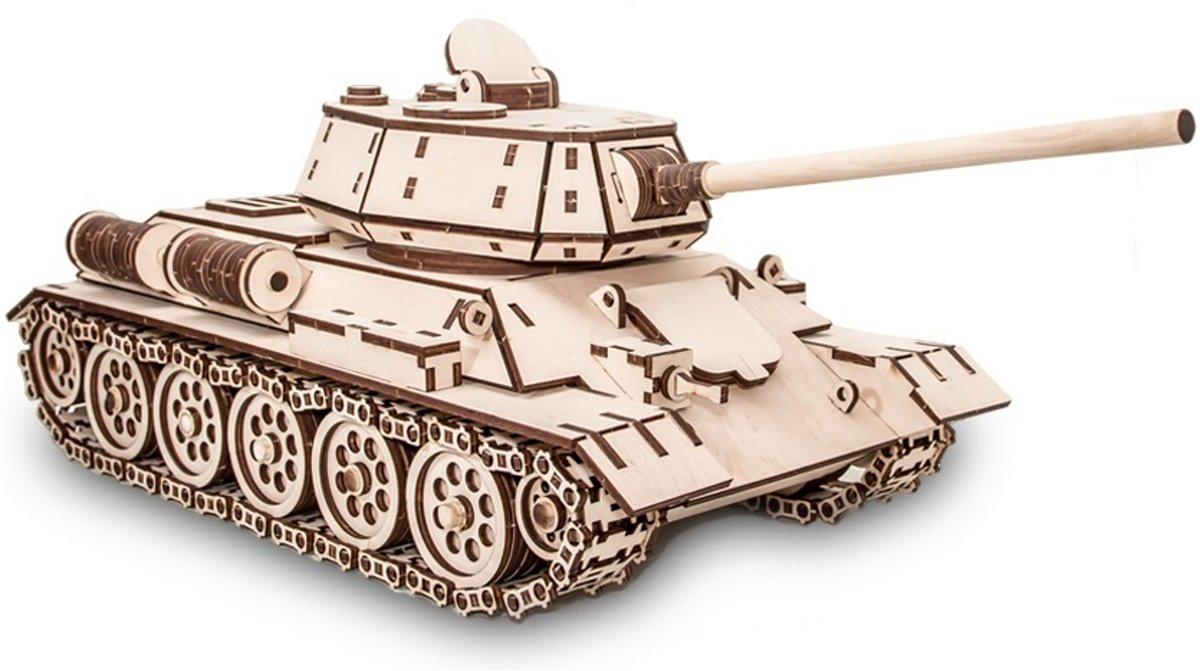 Eco-Wood-Art Tank T-34 - Houten Modelbouw kopen