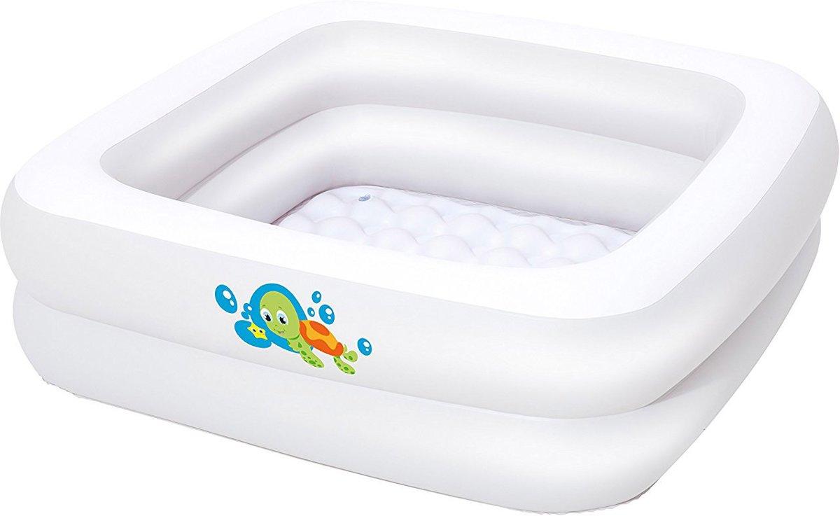 Bestway Babyzwembad met Opblaasbare Bodem (86x86x25cm)