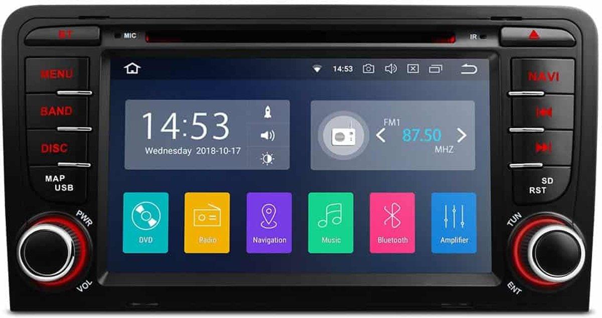 Audi A3, 7 Android 8.1 Quad Core 16GB ROM + 2G RAM Navigatiesysteem kopen