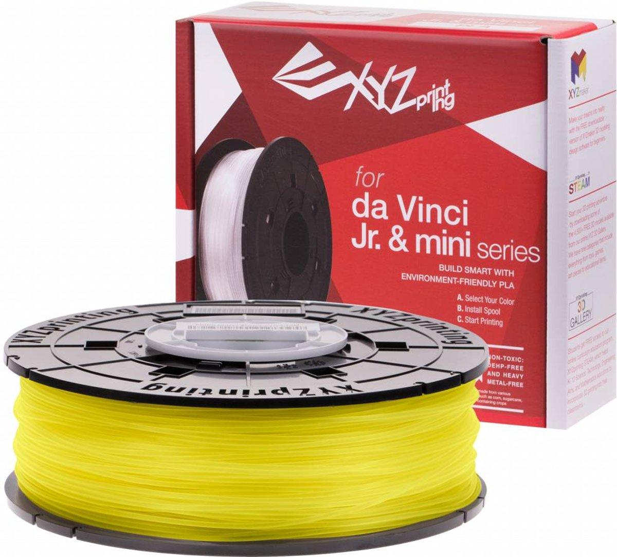 XYZprinting RFPLCXUS03G Polymelkzuur Geel 600g 3D-printmateriaal